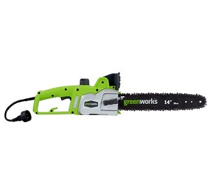 "GreenWorks (14"") 9-Amp Electric Chain Saw Model 20012"