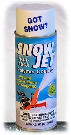 Sno-Jet for Snowblowers, Shovels & Snow Plow Blades